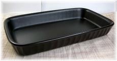 グラタン皿黒