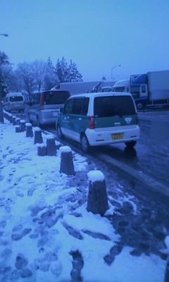 雪の中のGON Car