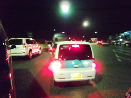 GON Car東北自動車道にて