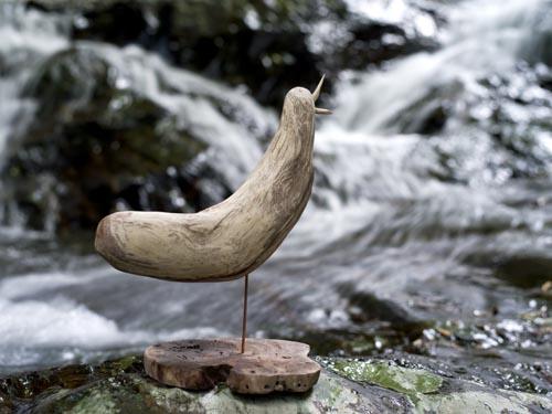 #4 流木の鳥