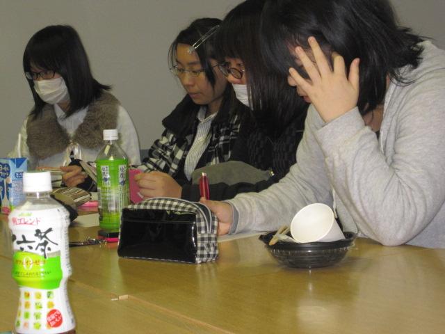 2011年12月8日学生図書委員会