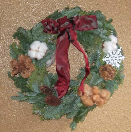 20091210 クリスマスリース2009 002 15cm