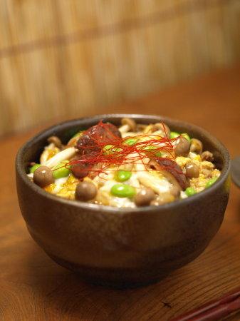 枝豆坦々キノコ丼a02