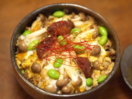 枝豆坦々キノコ丼a03