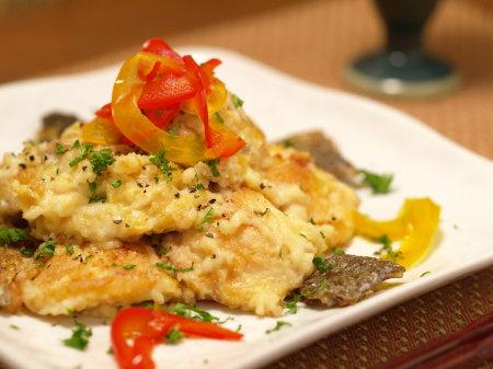 秋鮭の味噌チーズ炒め21