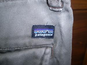 patagonia cargo pants logo