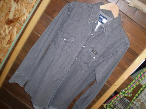 wrangler denim western shirt 4