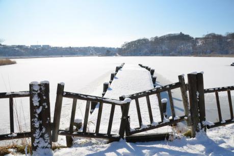 春採湖ボート乗り場