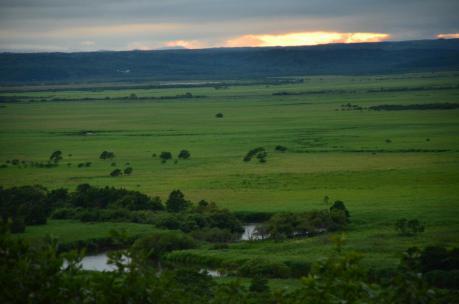 細岡大観望からの釧路湿原