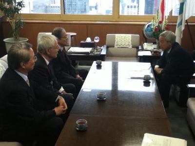 20101216環境大臣訪問