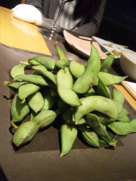 長岡産ぷっくり塩茹で枝豆