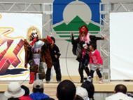 チビッコたちの阿波踊り