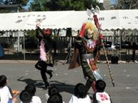 タレちゃんたちの阿波踊り