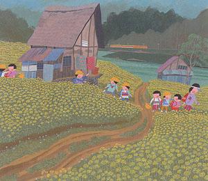 原田泰治絵画展blog01