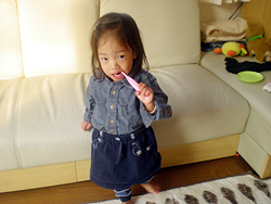 09'歯磨き姫♪