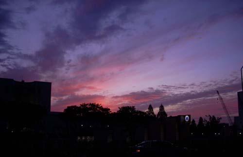 20091031いつかの夕日