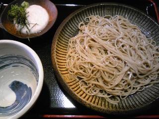「冷たい蕎麦 山芋とろろ」生粉蕎麦 玄(福岡市)