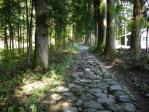 瀧尾神社への道