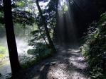 明神への道