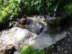 前宮水目の清流