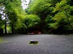 貴船神社雨の奥宮2