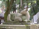 枚岡神社撫で鹿