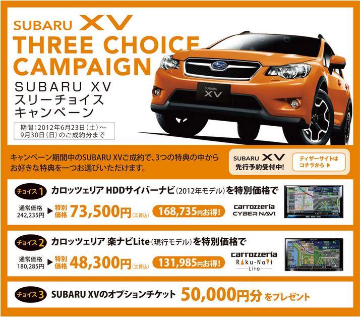 xvキャンペーン
