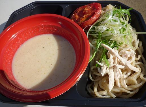 『アイバンラーメン』 全粒粉のWhite Chicken つけめん(800円)