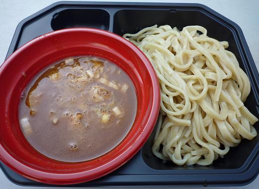 『四代目けいすけ@大つけ麺博』 伊勢海老と渡り蟹のつけ麺(800円)