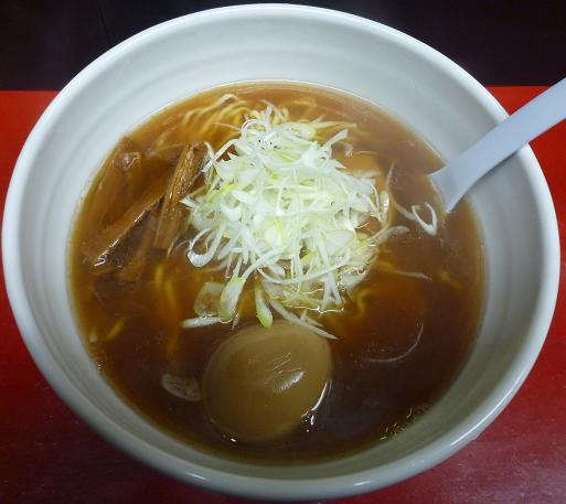 『麺 えどや』 玉子ラーメン(750円)