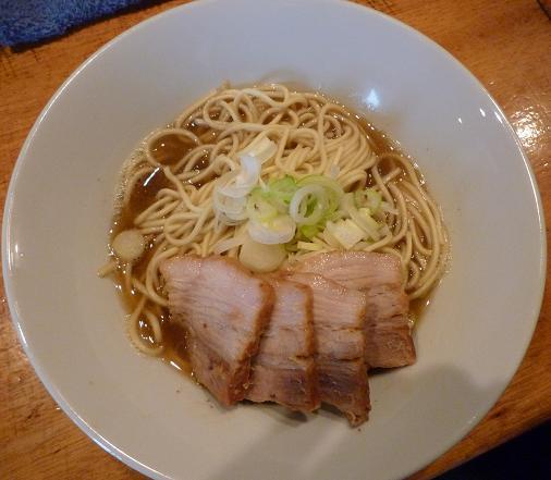 『自家製麺 伊藤』 肉そば(750円)