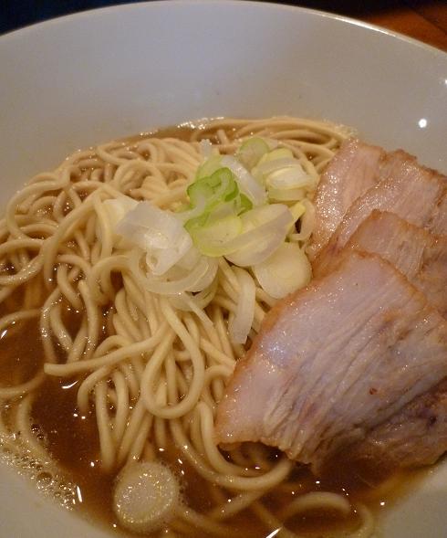 『自家製麺 伊藤』 肉そば(アップ)
