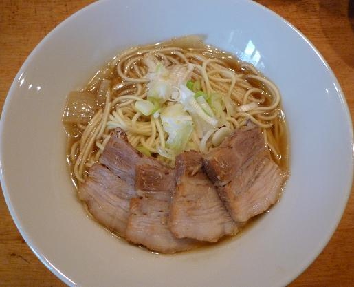 『自家製麺 伊藤』 比内鶏肉そば(750円)