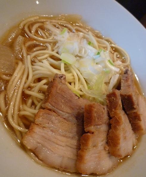 『自家製麺 伊藤』 比内鶏肉そば(アップ)