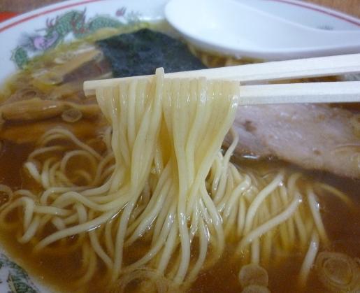 『カドヤ食堂』 中華そば(麺リフト)