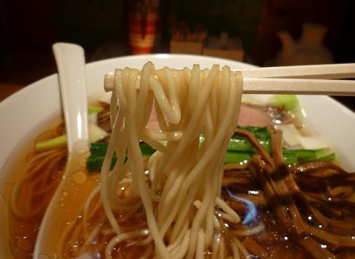 『中華そば 睦月』 中華そば(麺リフト)