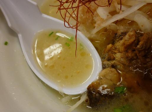 『太麺堂』 太ラーメン(スープ)