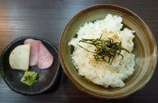 『天雷軒 東日本橋店』 入江の実家米(150円)