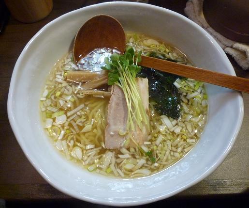 『麺屋げんぞう』 羅臼塩 塩らーめん(680円)
