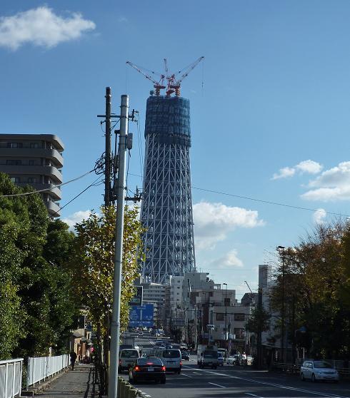 東京スカイツリー(20091204)