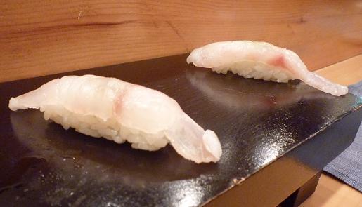 『蔵鮨』10 甘鯛こぶ〆の握り