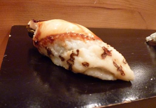 『蔵鮨』8 穴子の握り