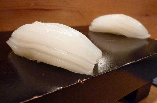 『蔵鮨』9 やり烏賊の握り