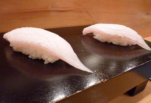 『蔵鮨』7 太刀魚の握り