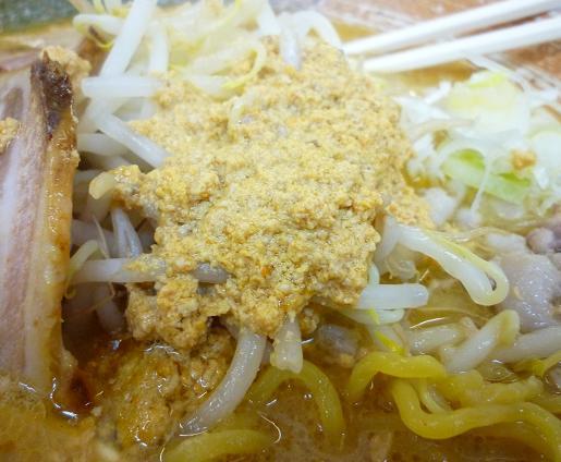 『覆麺』 2009年12月グランドデスマッチ 「アンキモ味噌ラーメン」 アン肝アップ