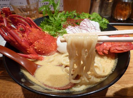 『麺や 庄の』 海老の乳麺('09年年末限定・麺リフト)