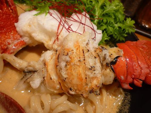 『麺や 庄の』 海老の乳麺('09年年末限定・海老の身)