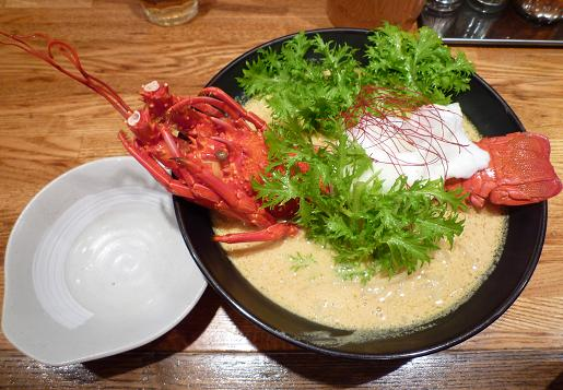『麺や 庄の』 海老の乳麺('09年年末限定・1500円)