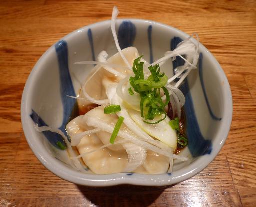 『麺や 庄の』 水餃子