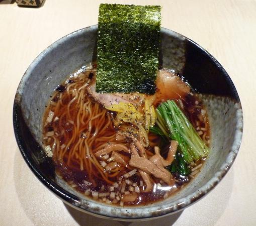 『麺喰屋 澤』 2010年正月限定 「支那そば(黒)」800円